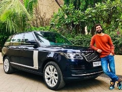 Actor Vicky Kaushal Brings Home The Range Rover Autobiography