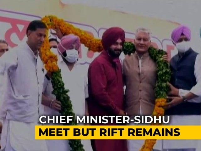 Video : Now, <i>Yaari-Dosti</i> For Navjot Sidhu, Amarinder Singh