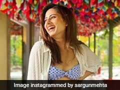 Excuse Us As We Take Notes From Sargun Mehta On How To Pair Bikini Tops Casually