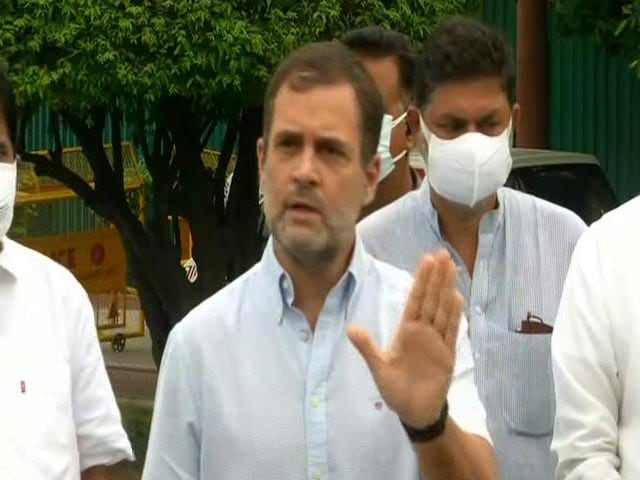 """Video : """"Not Potential Target, I Am Being Tracked"""": Rahul Gandhi"""