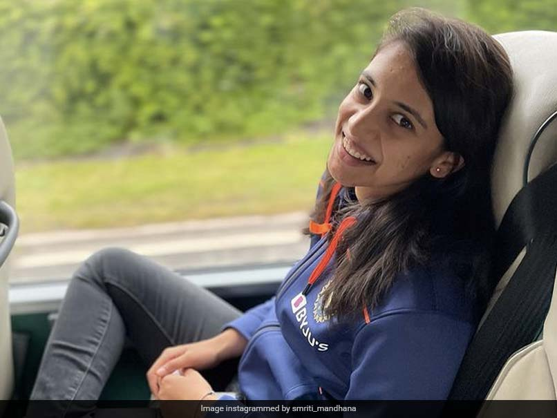 """""""Journey Of Life Continues"""": Smriti Mandhana Shares Pics From Team Bus"""