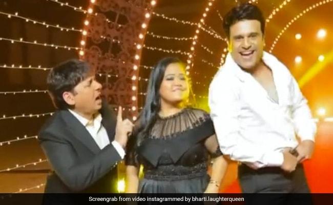 भारती सिंह ने कृष्णा अभिषेक और सुदेश लहरी संग 'बचपन का प्यार' सॉन्ग पर किया डांस, देख फैन्स ने लगाए ठहाके