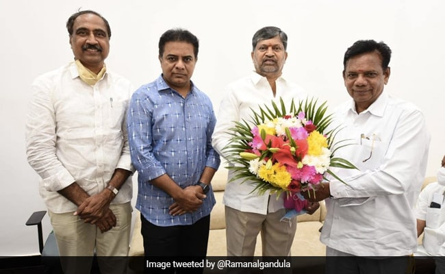 Former Telangana TDP Chief L Ramana Joins Chief Minister KCR's Party