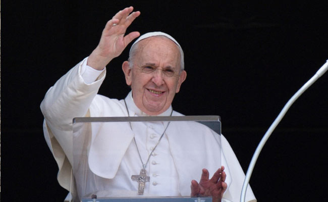 Pope Francis Urges People To Get Covid-19 Jabs 'As Act Of Love'