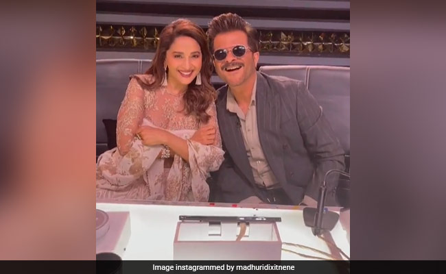 Viral: Madhuri Dixit And Anil Kapoor Recreate Jai Jai Shiv Shankar Moment On Dance Deewane 3