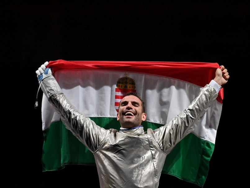Tokyo Olympics: Hungarys Aron Szilagyi In Dreamland After Making Olympic Fencing History