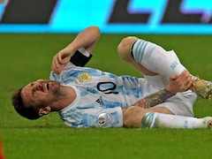 """""""Unparalleled Passion"""": Fans Salute Lionel Messi For Playing Copa America Semi-Final With Bleeding Ankle"""