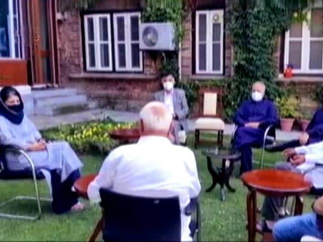 Video : Disappointed At Outcome Of Meet Chaired By PM On J&K: Gupkar Alliance