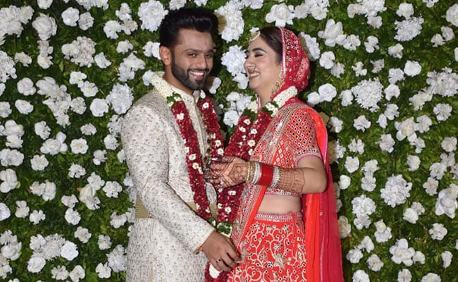 Rahul Vaidya And Disha Parmar Are Now Married. Pics Here