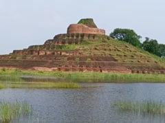 Bihar News: विश्व के सबसे बड़े केसरिया बौद्ध स्तूप पर मंडरा रहा बाढ़ का संकट