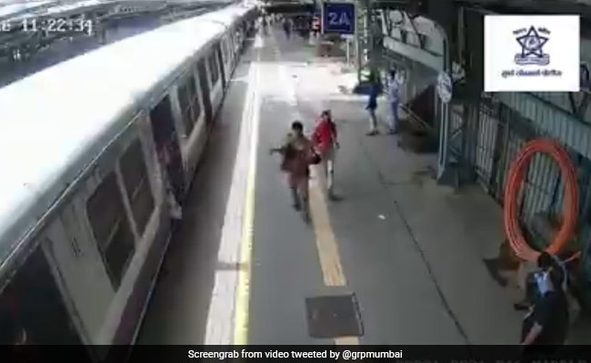 Railway Police Constable Saves Life Of 10-Year-Old At Mumbai Suburban Station
