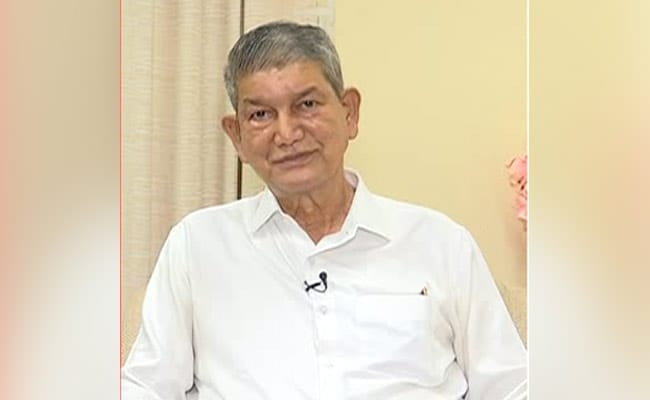 Punjab Congress In-charge Harish Rawat Closely Following Developments In State, Says Party