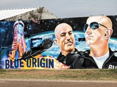"""""""Not Really Nervous"""": Billionaire Jeff Bezos Girds For Inaugural Space Flight"""
