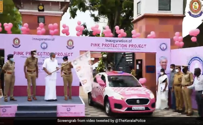 Kerala Police Launches 'Pink Protection' Project For Safety Of Women