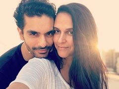 """Angad Bedi On Neha Dhupia's Second Pregnancy: """"It's Not Easy On Her, She's Keeping Her Spirits Up"""""""