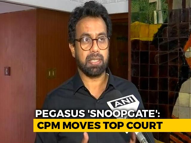 Video : Pegasus Snooping Row In Supreme Court As CPM Attacks Government