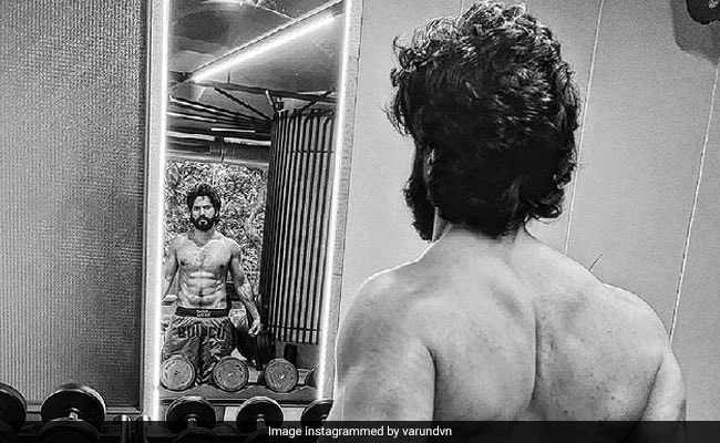 Varun Dhawan Gives A Glimpse Of His Ripped Physique In New Pics. Anil Kapoor Comments
