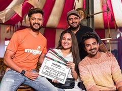 "<i>Kakuda</i>: Sonakshi Sinha, Riteish Deshmukh And Saqib Saleem Are ""Triple Trouble"" In New Film"