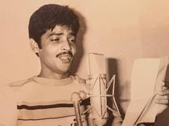ICYMI: Udit Narayan In A 41-Year-Old Pic From His Debut Song Recording