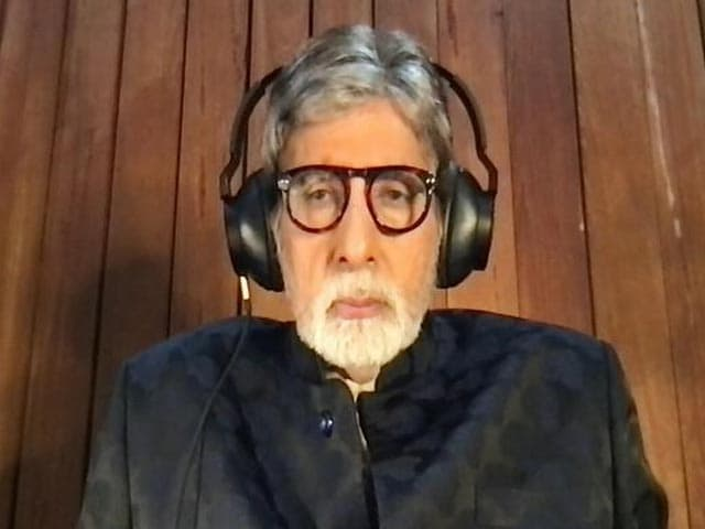 Video : Breaking Vaccine Hesitancy Around Polio Was Not Easy: Amitabh Bachchan