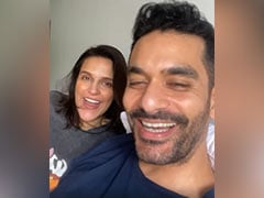 After Pregnancy Announcement, Neha Dhupia And Angad Bedi's Reaction To Baby Name Suggestion From Fan