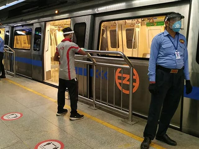 Video : Delhi Theatres At 50%; Metro Trains, Buses At Full Capacity From Monday
