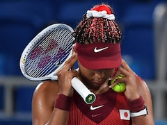 """Tokyo Games: Naomi Osaka """"Disappointed"""" After Painful Home Defeat In Olympics"""