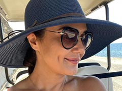 We Can 'Sea' How Happy Sun And Sand Make Preity Zinta