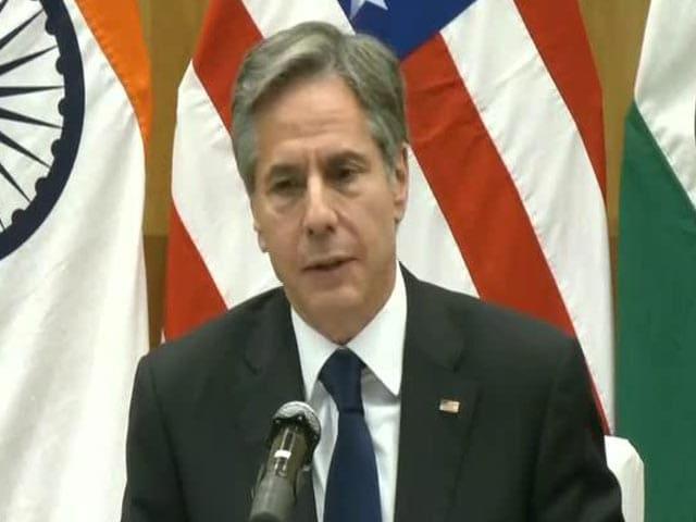 Video : No Military Solution To Conflict In Afghanistan, Says US's Antony Blinken In Delhi