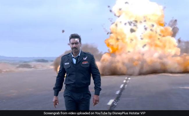 Bhuj: The Pride Of India Trailer - Ajay Devgn As Squadron Leader Vijay Karnik At His Patriotic Best