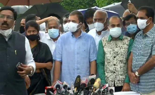 PM Modi 'Hit Soul Of India's Democracy' By Using Pegasus: Rahul Gandhi