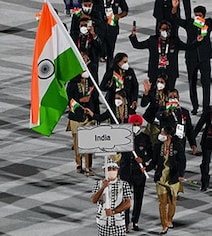Watch: Indian Contingent Sparkles At Tokyo Olympics Opening Ceremony