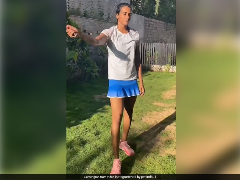 """Watch: PV Sindhu Shares Video Of Taking On Her """"Toughest"""" Competitor"""