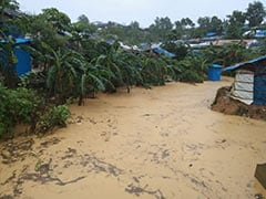 """""""Nightmare"""": Thousands Displaced As Floods Hit Bangladesh Rohingya Camps"""