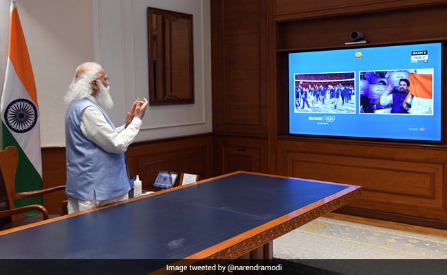 PM Modi Cheers 'Dynamic' Indian Contingent At Tokyo Olympics
