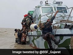 Border Security Force Saves Army Personnel From Drowning In Gujarat Creek