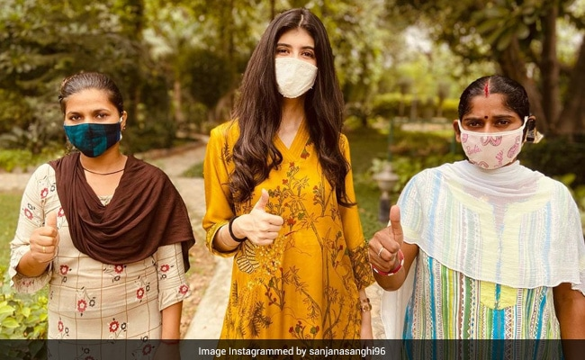 Sanjana Sanghi On Getting Her Family Of 'Selfless Caretakers' Vaccinated Against COVID-19