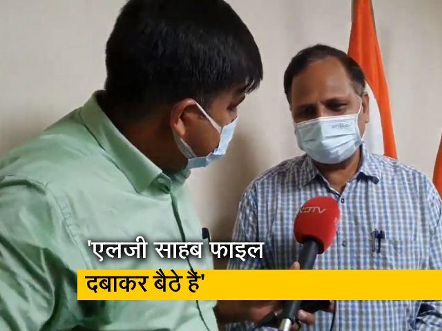Video : ऑक्सीजन की कमी से मौतों के मामले पर सत्येंद्र जैन ने क्या कहा?
