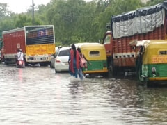 Waterlogging In Delhi And Gurgaon After Downpour, More Rain Likely
