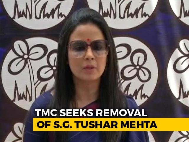 Video : Trinamool Meets President Ram Nath Kovind To Seek Solicitor General's Removal