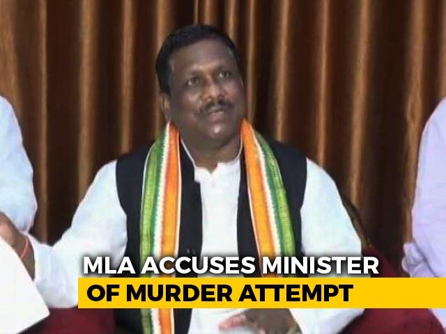 Video : Congress vs Congress In Chhattisgarh Over Road Rage Incident
