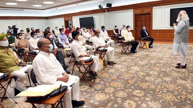 पीएम मोदी के आवास पर कैबिनेट मीटिंग, नए मंत्री भी हुए शामिल वीडियो – हिन्दी न्यूज़ वीडियो एनडीटीवी ख़बर