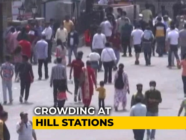Video : Home Secretary Reviews Covid Situation In Hill Stations, Tourist Locations