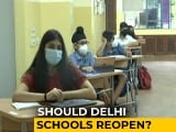 Video : Delhi Government Seeks Views Of Parents, Teachers On Reopening Schools