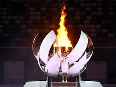 Tokyo Games: Tennis Star Naomi Osaka Lights Olympic Cauldron To End Opening Ceremony