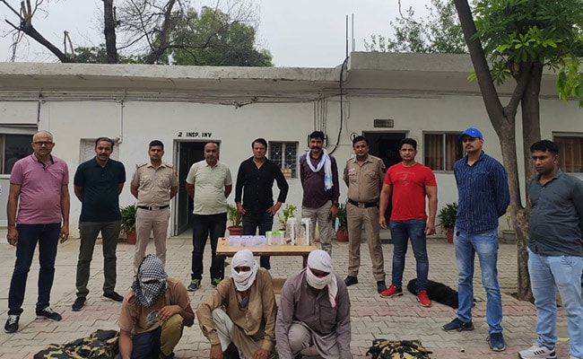 Five Involved In Stealing Cattle Arrested In Delhi