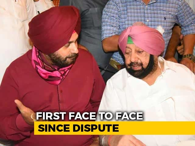 Video : Over A Cup Of Tea, Amarinder Singh And Navjot Sidhu Press Reset