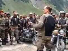 """""""How Is The Josh?"""": Army's Video Of Bike Rally Dedicated To Kargil Martyrs"""