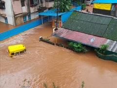 Rain Batters Maharashtra's Konkan, 6,000 Train Passengers Stranded