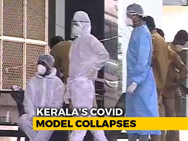 Video : COVID-19 Cases In Kerala Continue To Rise